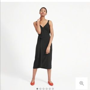 Everlane Go Weave Tank Wrap Dress